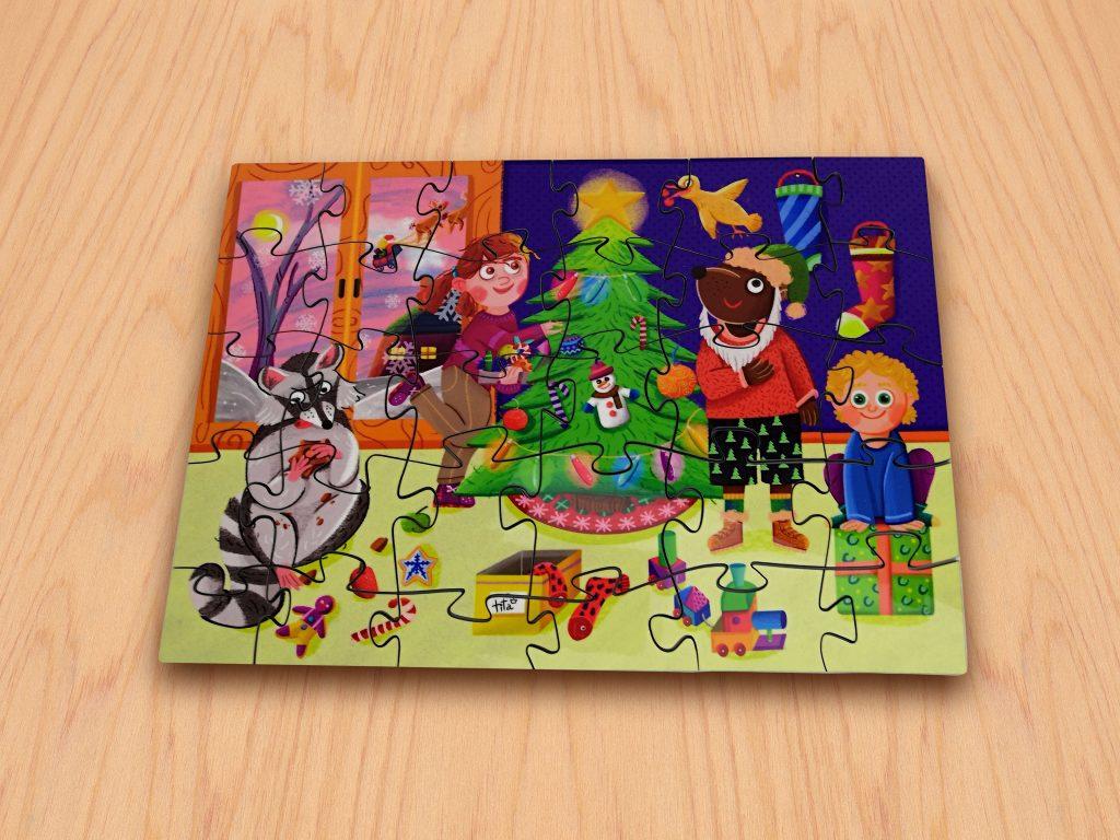 """Puzzle """"Navidad"""""""
