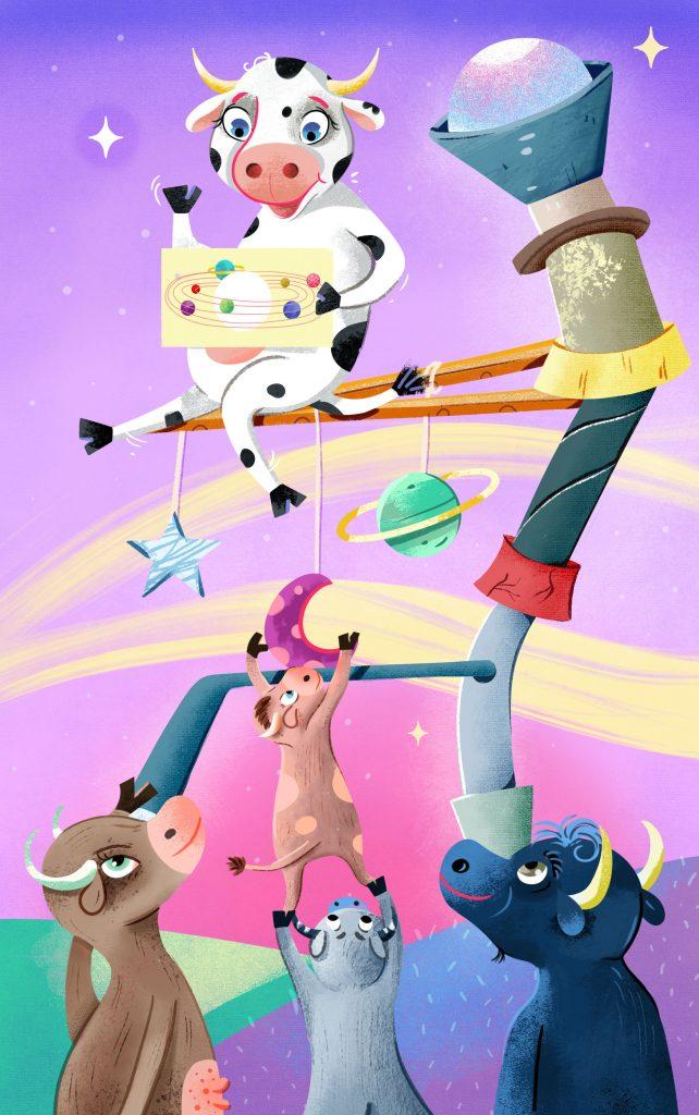 Las vacas no miran las estrellas