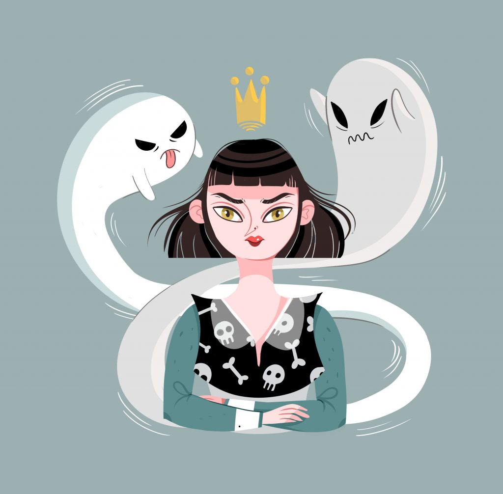 Ilustración a partir del reto de Rachel Winkle